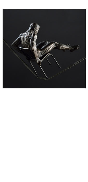 Chair (Suspended maquette), (2013) - David Robinson