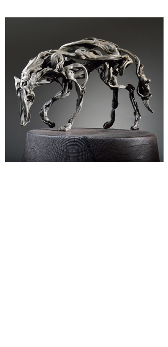 Circling Wolf, 2015 - David Robinson
