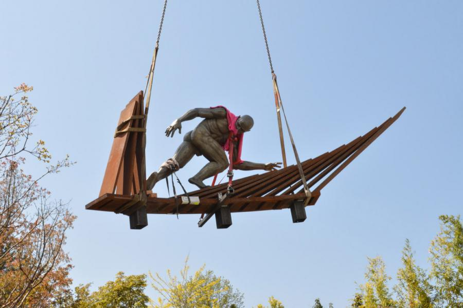 Craning in the figure
