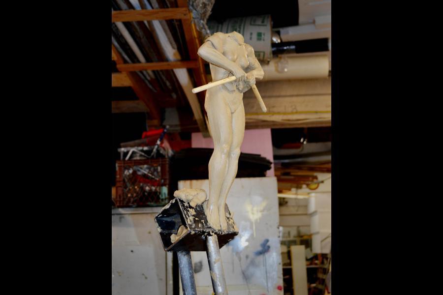 The female figure in progress